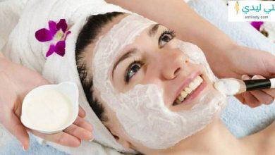 أقوى وصفات ماسك النشا وماء الورد لتبييض الوجه والجسم